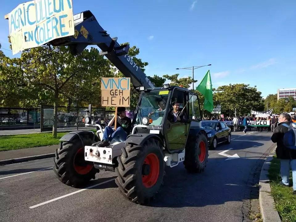Vendredi, manifestation d'agriculteurs en tracteurs contre la réforme de la PAC