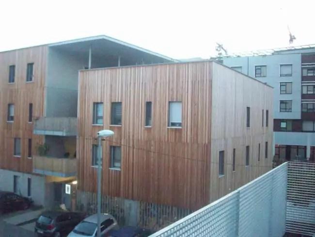 La communauté souhaite s'intégrer dans son voisinage, le nouvel éco-quartier Danube (Photo DL / Rue 89 Strasbourg / cc)