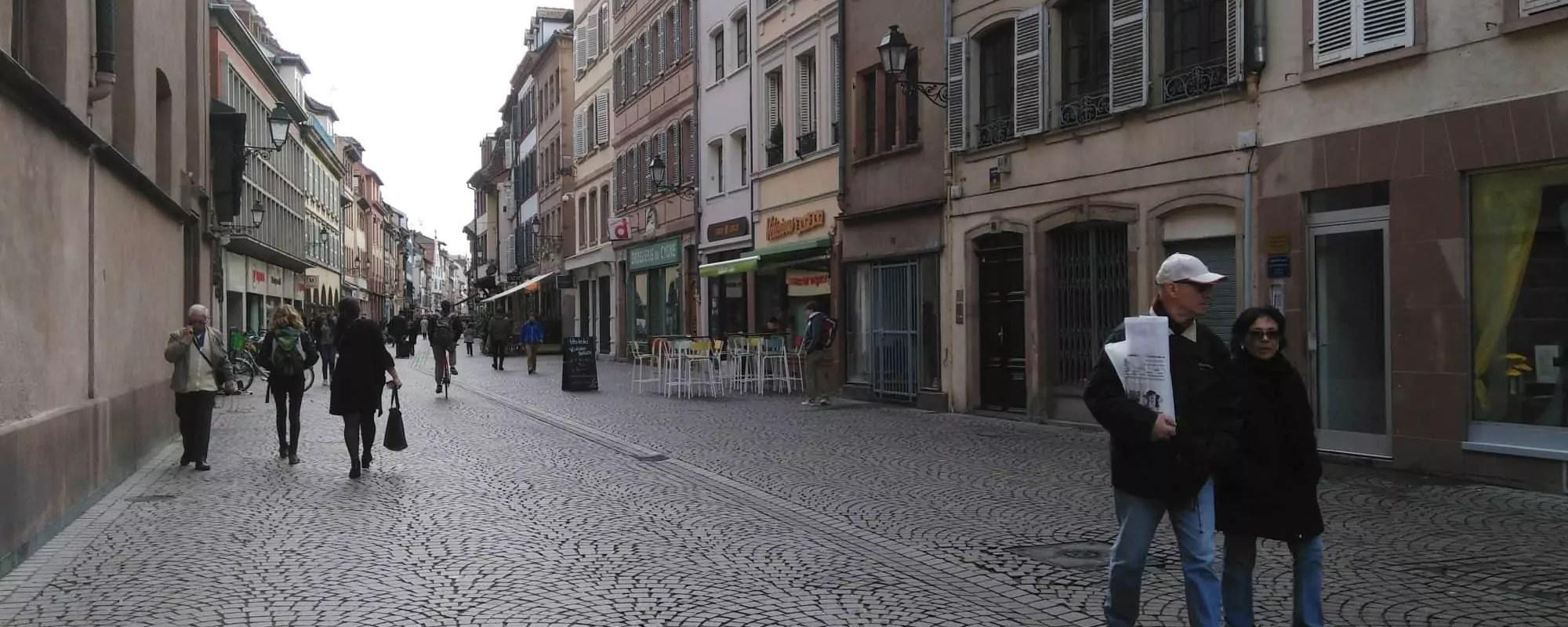 Les commerçants du centre-ville de Strasbourg vont offrir des heures de parking