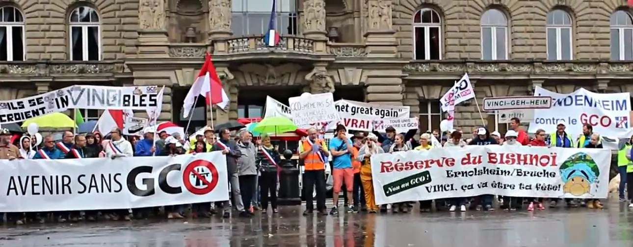 Recours déposés par Alsace Nature contre le GCO : le verdict est reporté au 20 juillet