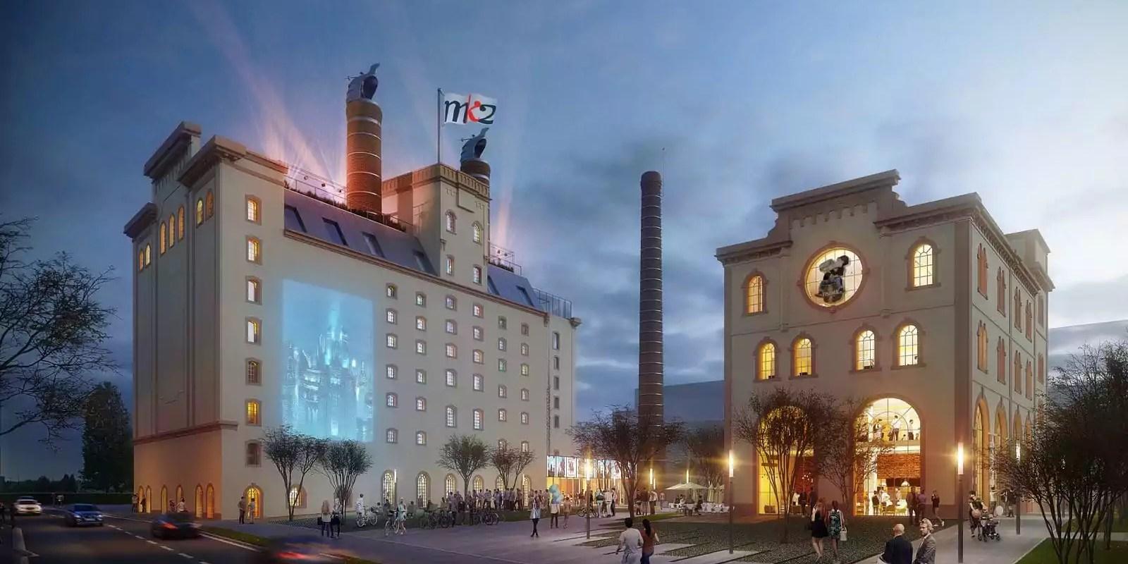 Huit salles de cinéma dans un nouveau complexe MK2 à Schiltigheim en 2020