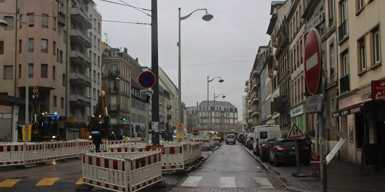 Pas de suspension immédiate des travaux du tram vers Kœnigshoffen