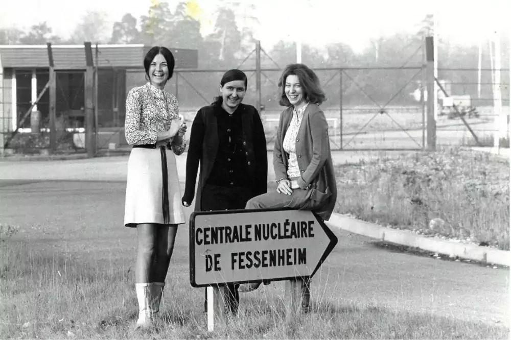 «Les femmes de Fessenheim», premières opposantes à la centrale dès sa construction