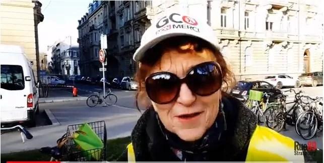 Cathy, la «mamie linge-gardien» de la Zad