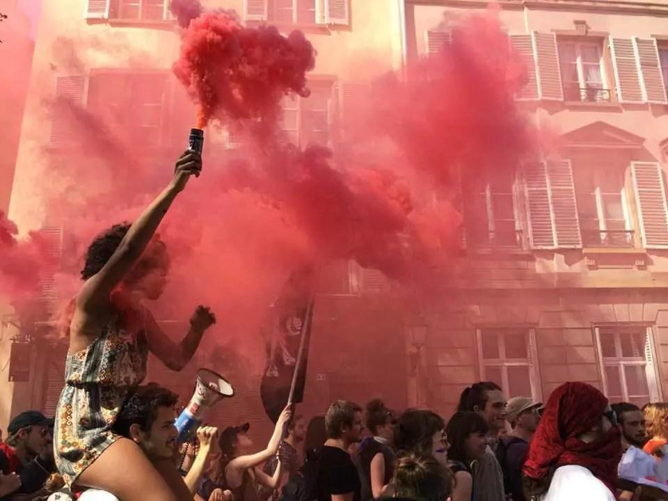 Entre 3 000 et 4 000 personnes dans les rues à la manif' de «convergence des luttes»