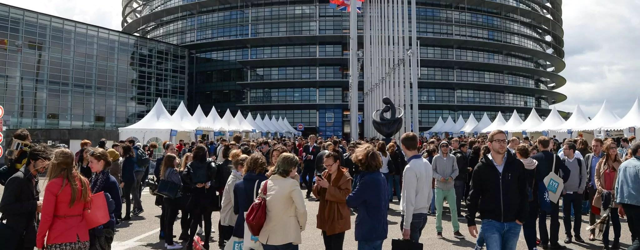 Plus de 8000 jeunes attendus à Strasbourg pour rêver l'avenir de l'Europe