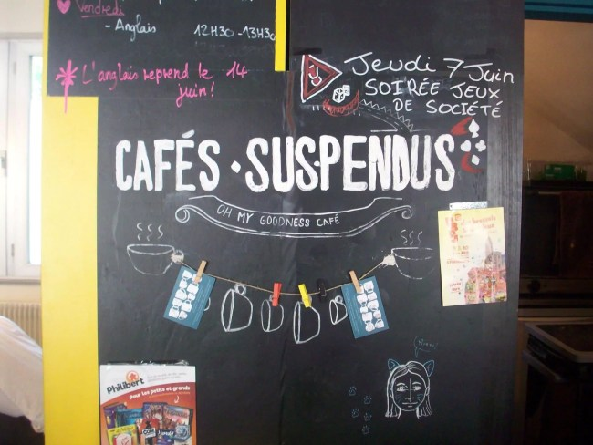 Au café Oh My Goodness, on donne environ cinq cafés suspendus par jour (Photo DL/Rue 89 Strasbourg/cc)