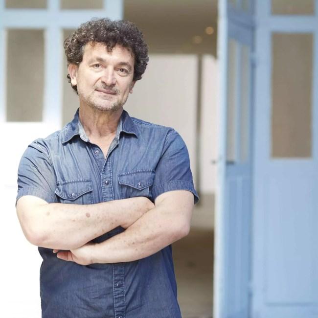 Dimitri Konstantinidis veut remodeler l'entrée de la Robertsau avec la vision d'artistes. Et pas seulement. (photo remise)