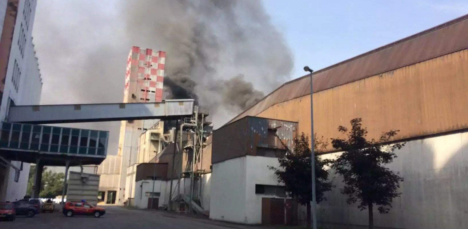 4 blessés dans l'explosion d'un silo au port de Strasbourg