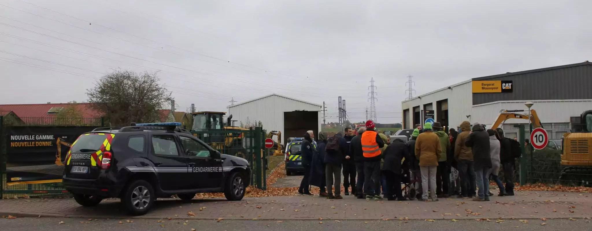 Vendenheim: les anti-GCO maintiennent la pression sur les entreprises de BTP