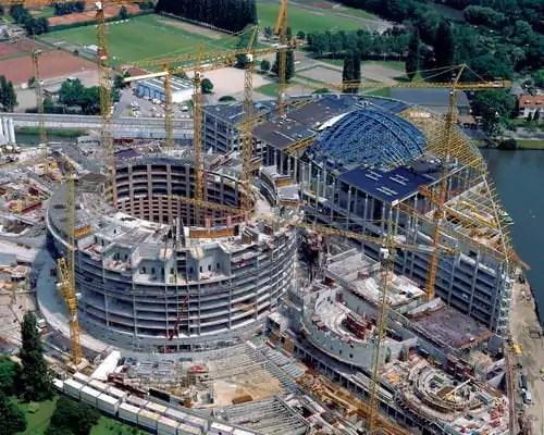 Quand Strasbourg fut choisie pour construire le Parlement européen