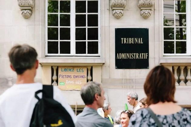 La plupart des recours sont au niveau du tribunal administratif de Strasbourg, avant d'aller parfois vers d'autres juridictions plus hautes (Photo Abdesslam Mirdass)