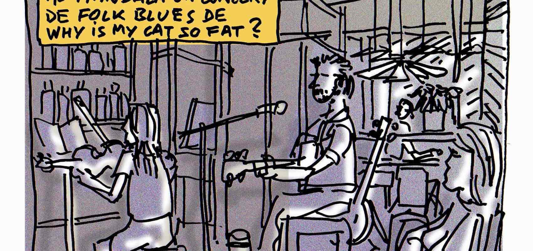Why my cat is so fat? Du folk blues au Mandala