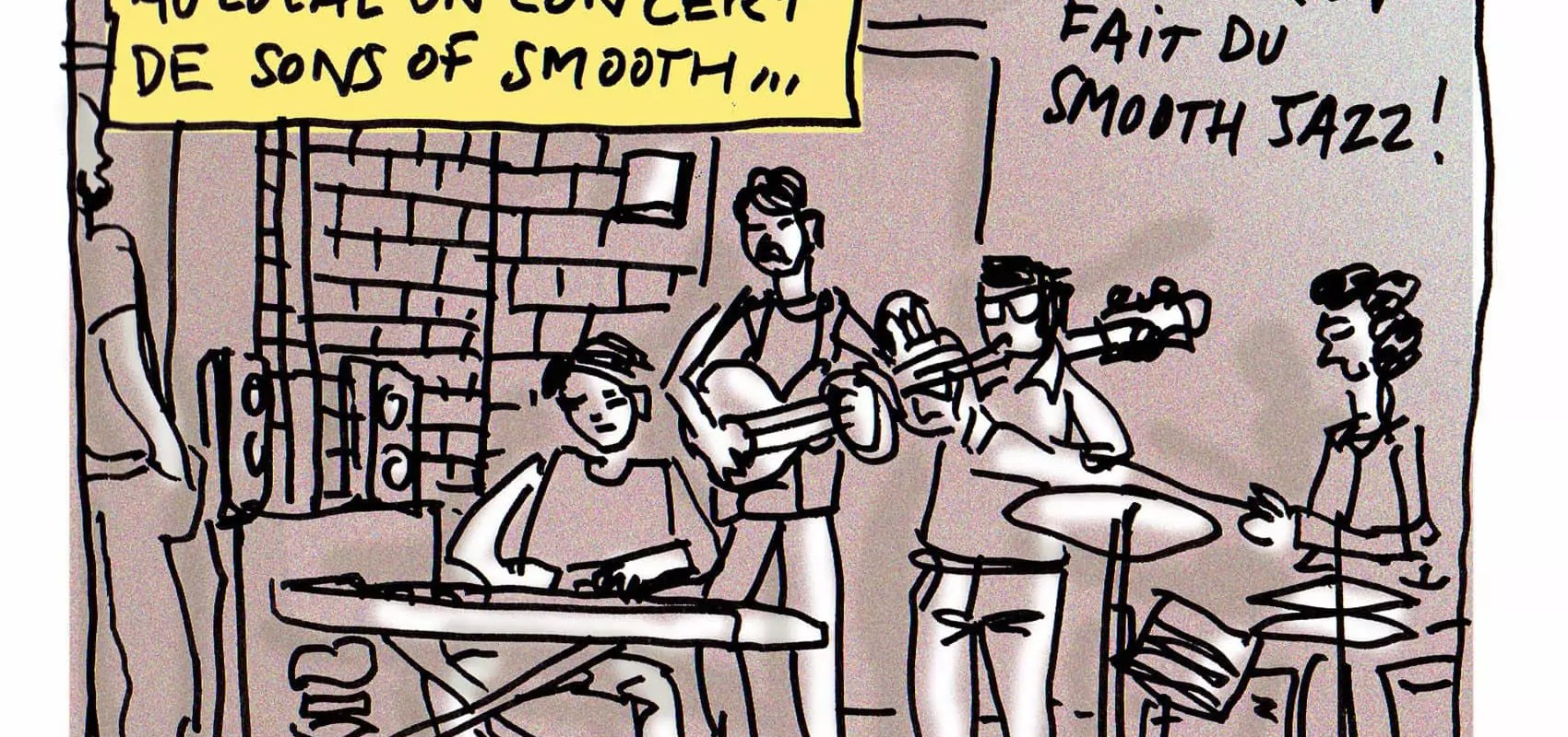 Le jazz tranquille de Sons of Smooth au Local