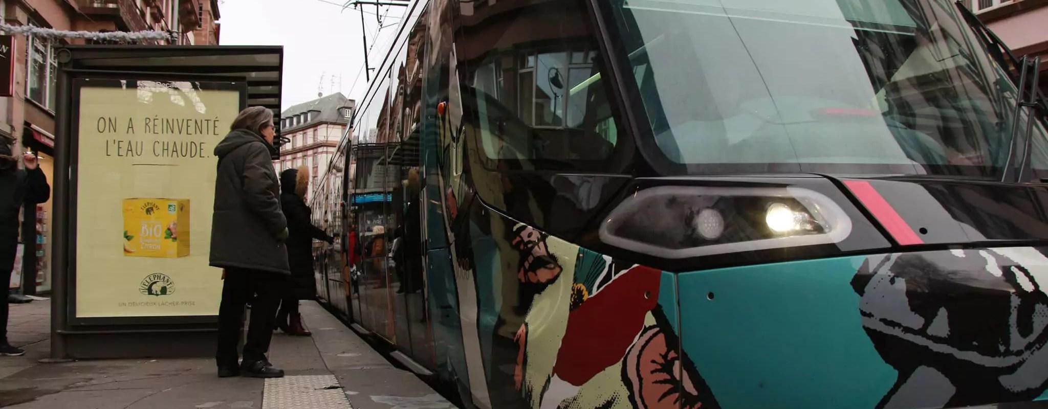 Bientôt, les transports gratuits à Strasbourg lors des pics de pollution