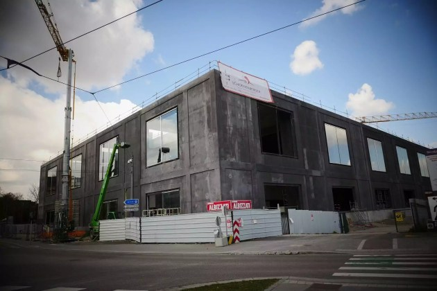 Le chantier du nouveau Maillon en mars 2019