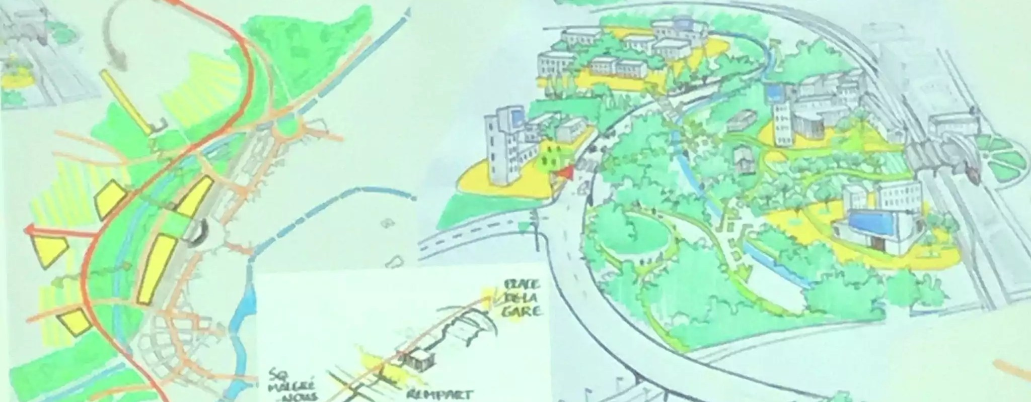 Des urbanistes proposent de garder l'A35 surélevée