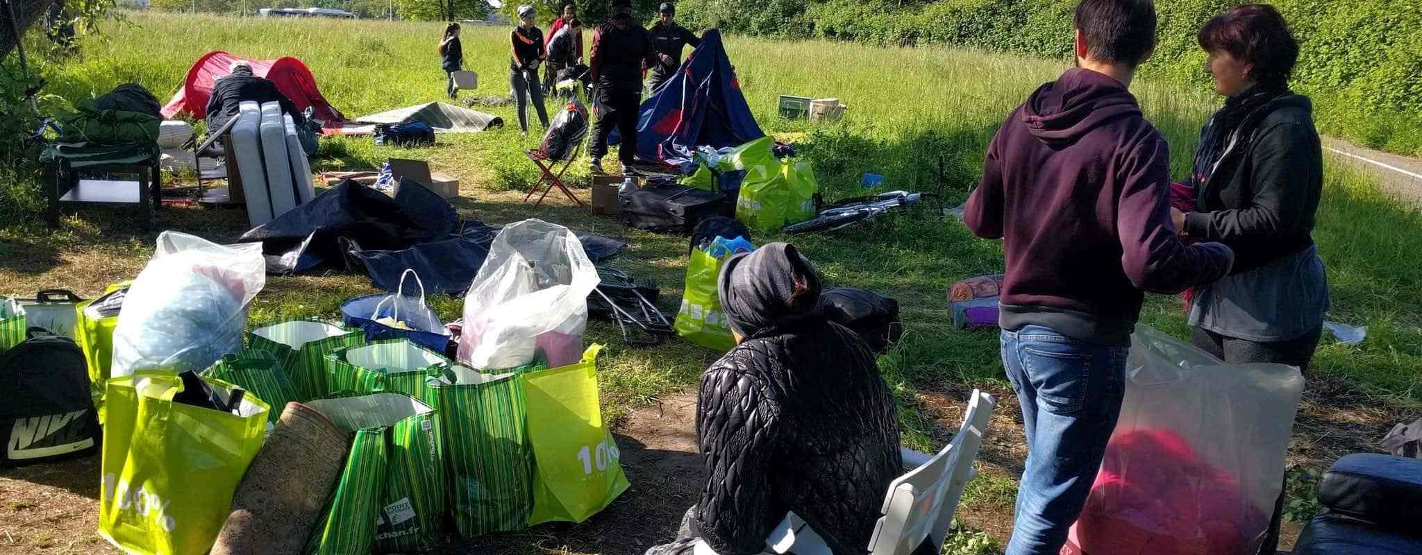 Pourquoi les camps de sans-abris seront un thème des municipales