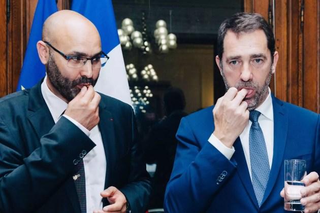 """Le ministre de l'Intérieur Christophe Castaner participe a la rupture du jeûne organisée à Strasbourg par le CRCM. """"Strasbourg, lieu de formation des imams, de dialogue interreligieux, du Concordat, est attractif"""", justifie le ministre, apres que le CFCM ait déclaré être déçu par le ministre. (Photo Adbesslam Mirdass)"""