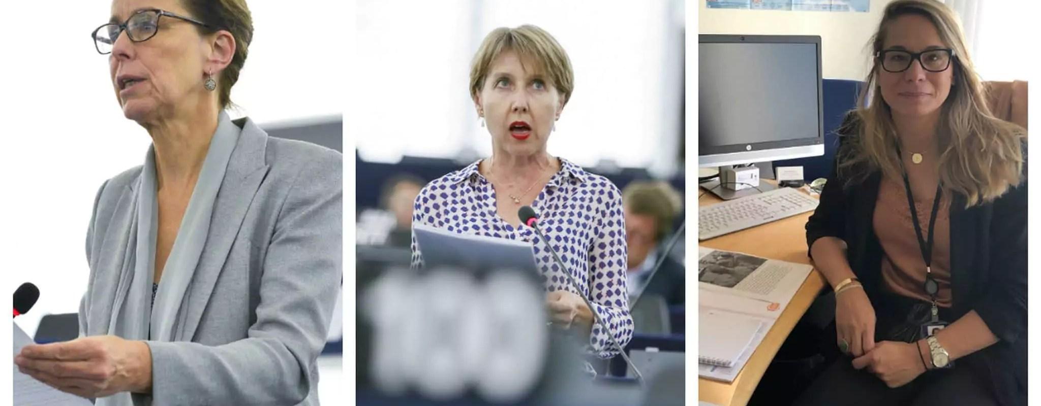 Les rentrées au Parlement européen d'Anne Sander, Fabienne Keller et de Virginie Joron