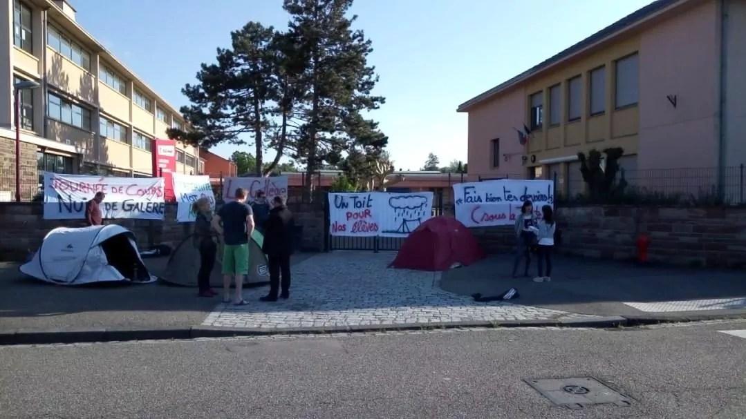 Les profs du collège Lezay-Marnésia enseignent la solidarité par l'exemple