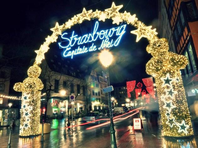 Le marché de Noël à Strasbourg (Photo Manuel M. / FlickR / cc)