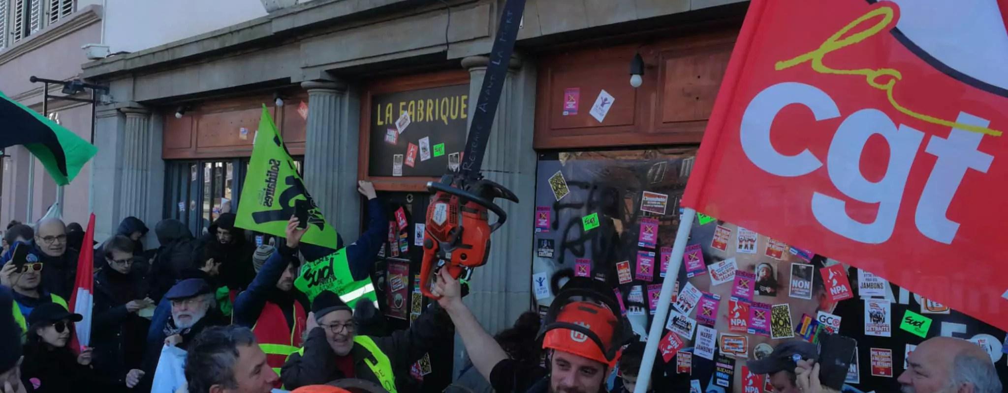 Perturber la campagne d'Alain Fontanel: tout un programme pour les militants anti-Macron