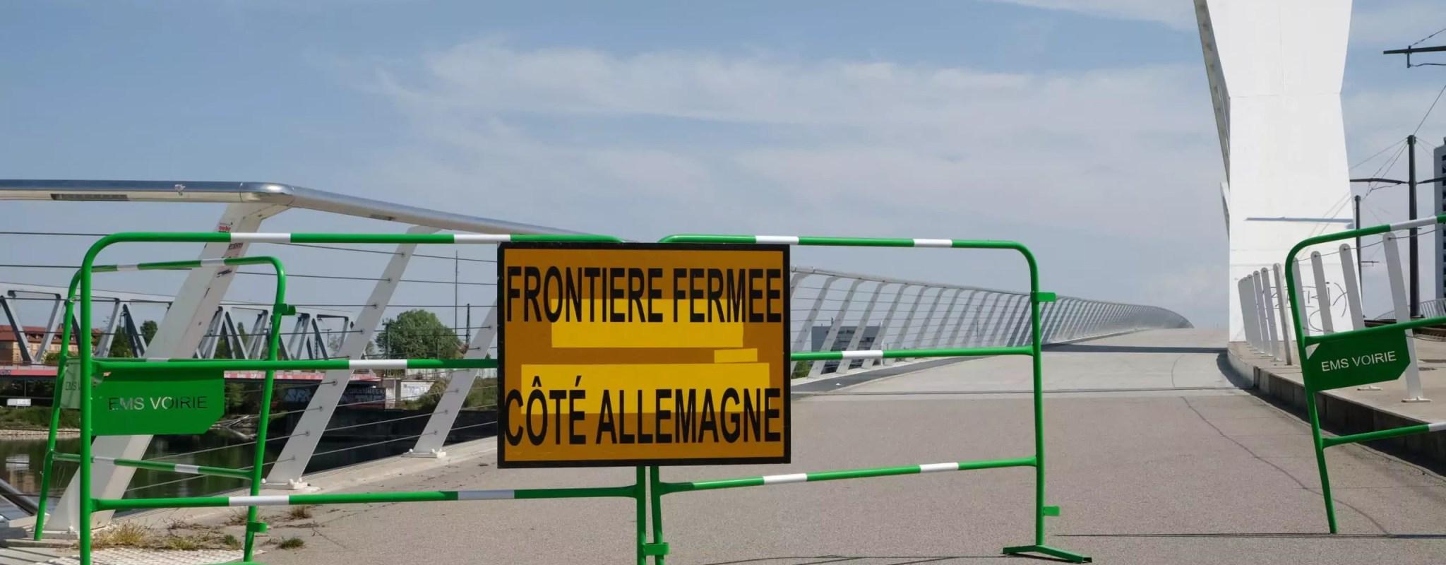 Frontière franco-allemande: cacophonie des deux rives