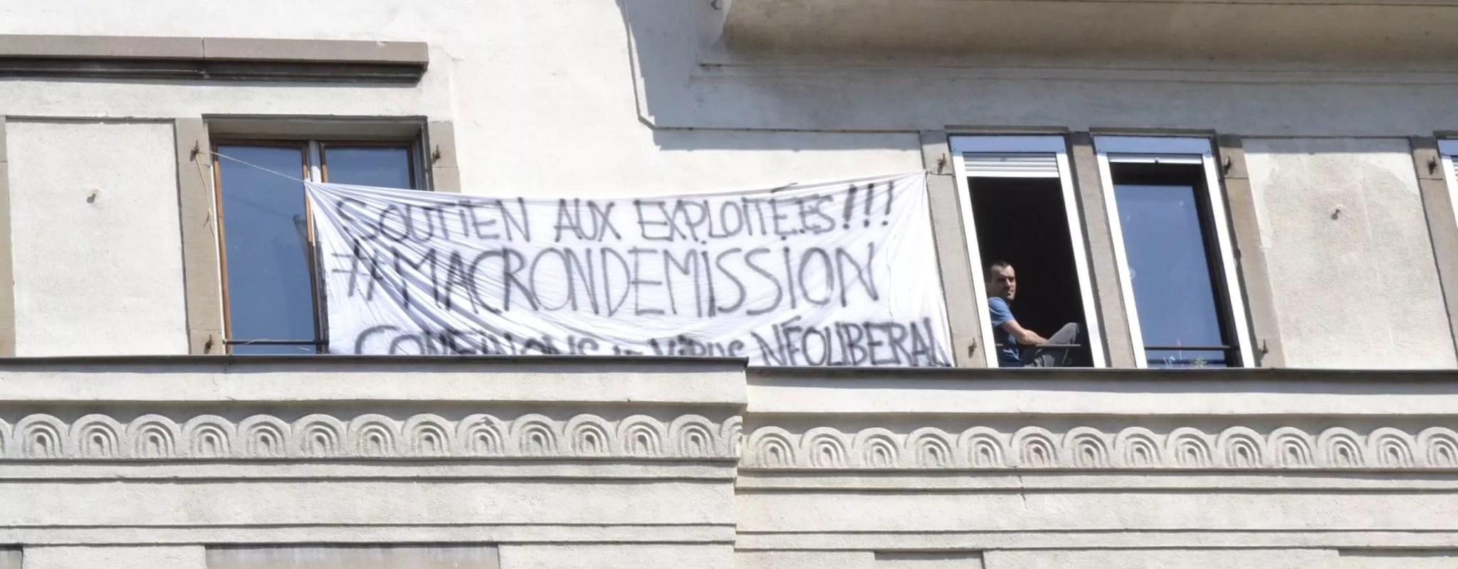 Durant le confinement, les Strasbourgeois font parler leurs balcons