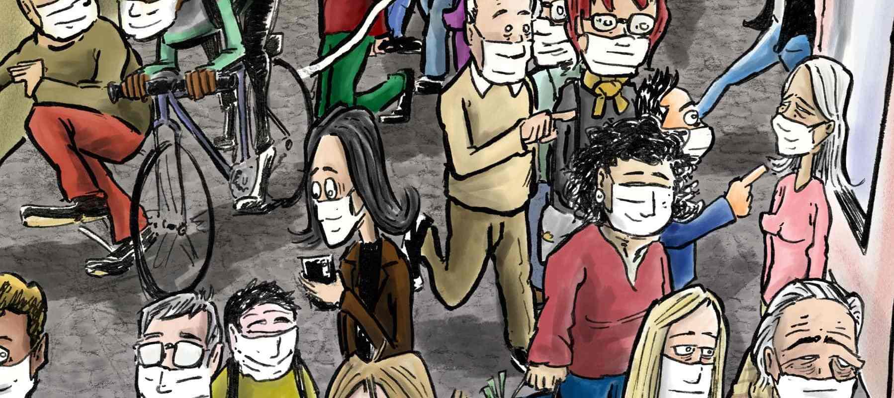 Masque obligatoire : question de liberté
