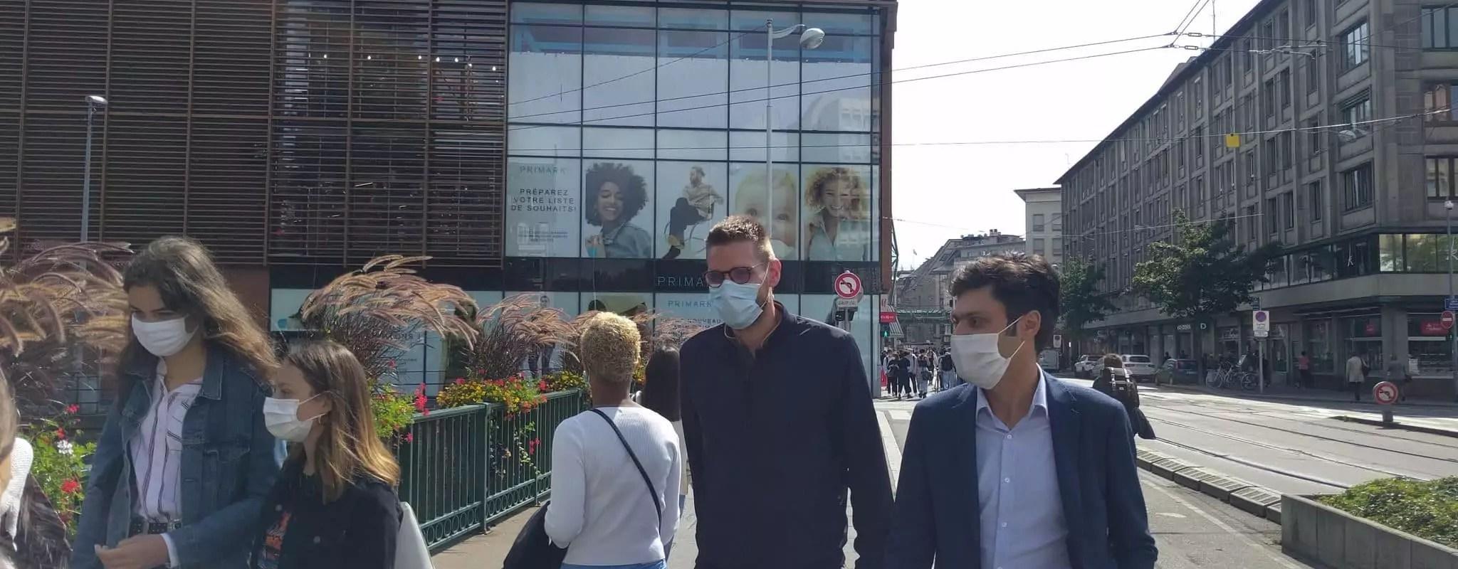 Masques obligatoires: la préfecture doit préciser les zones et les horaires d'ici lundi