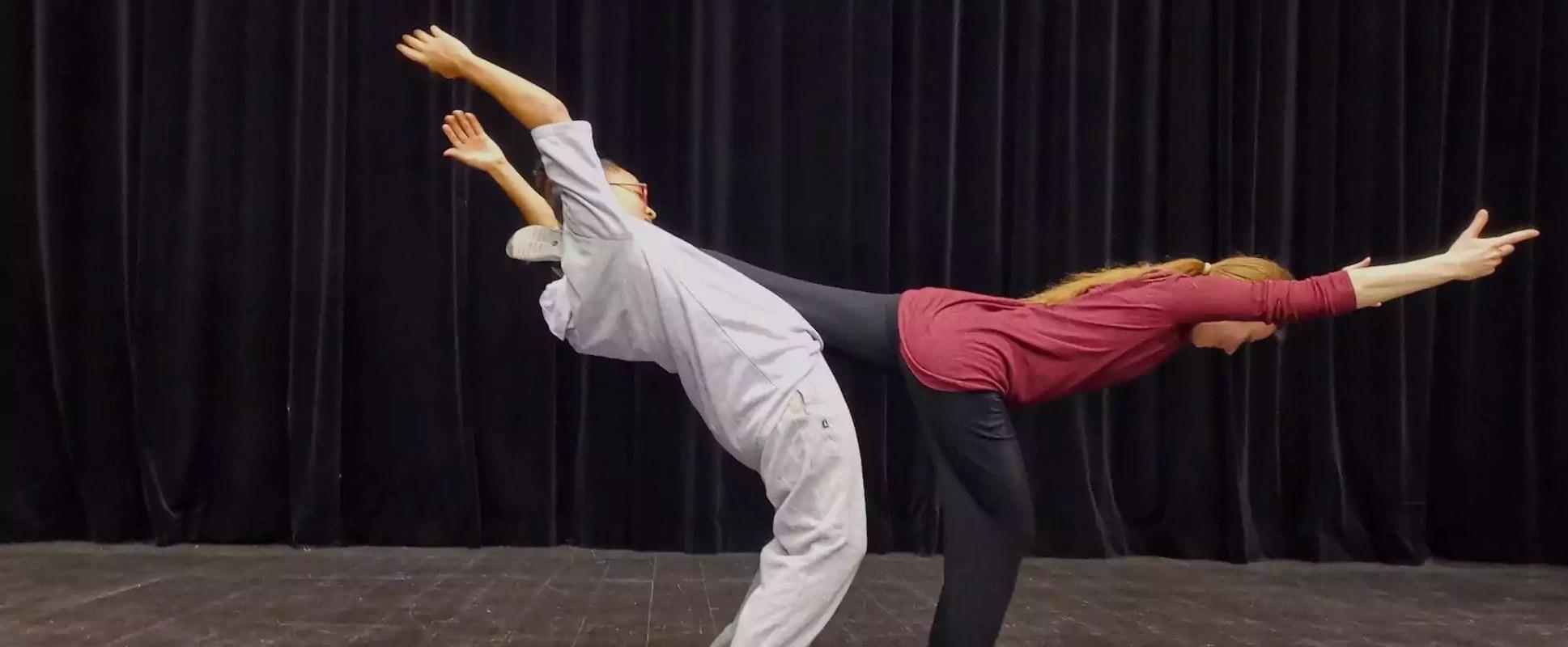 Les retrouvailles chorégraphiques et déconfinées de deux danseuses
