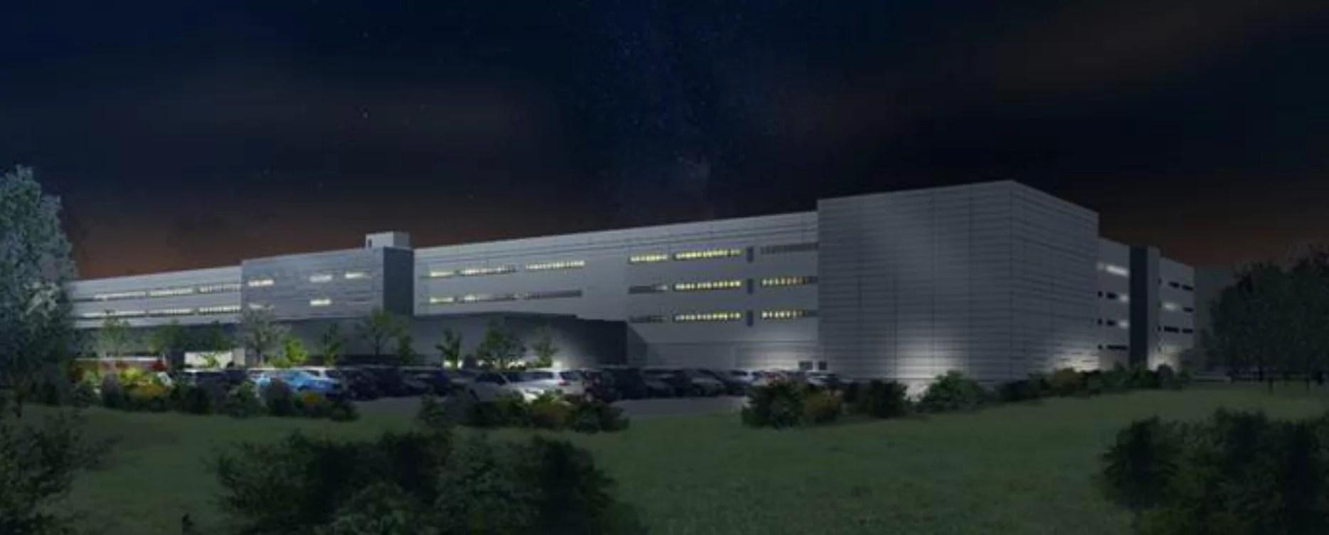 L'entrepôt géant Eurovia 16 déjà de retour à Ensisheim