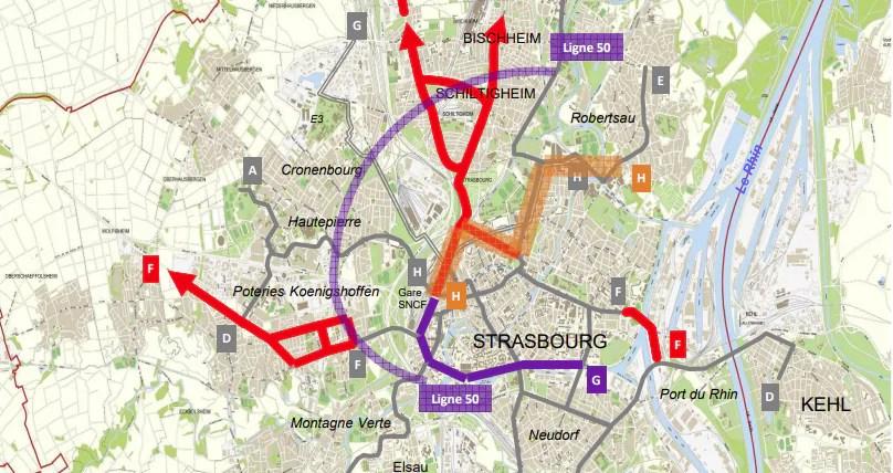 Au conseil de l'Eurométropole, trois extensions de tram à choisir