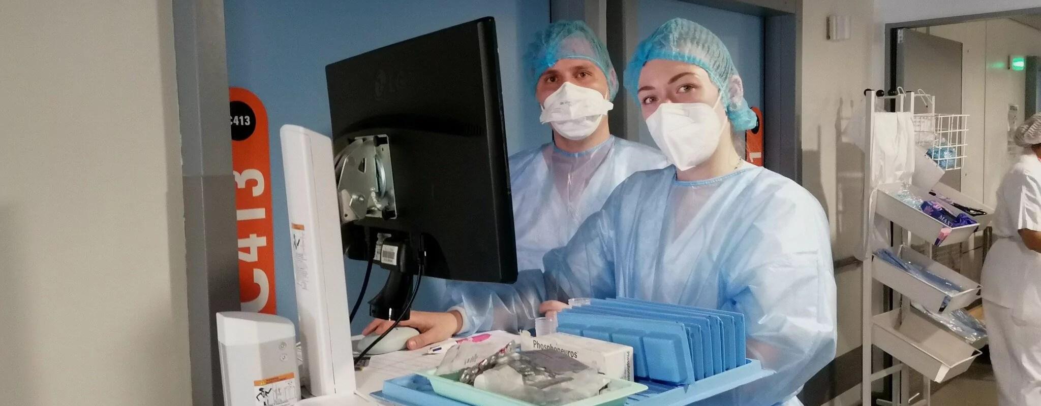 Un an après le début de la pandémie, les hôpitaux universitaires de Strasbourg toujours sous tension