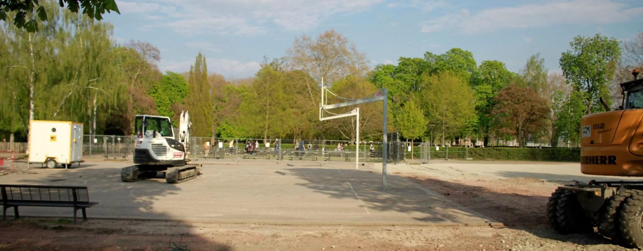 Parkour, skatepark et biergarten : les nouvelles ambitions de la Ville pour le parc et  la Halle Citadelle