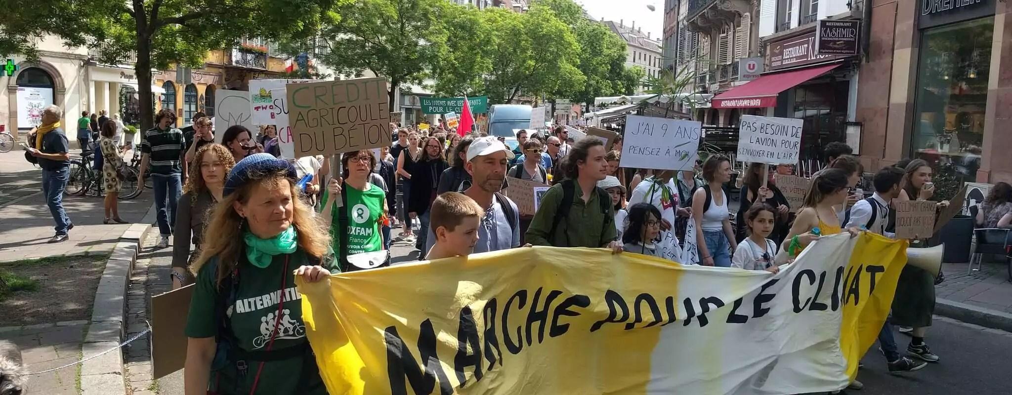 À Strasbourg, des associations écologistes appellent à se mobiliser dimanche pour une loi Climat «plus ambitieuse»
