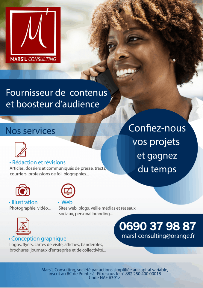 Flyer Mars'L Consulting