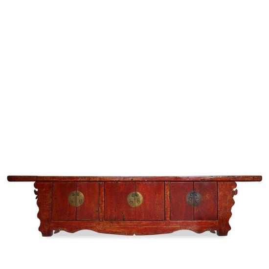 meuble tv chinois ancien l185cm