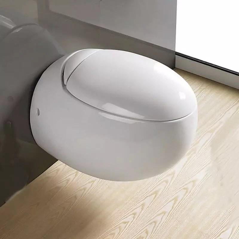 Toilette Uf WC Suspendu Uf WC Suspendu Design Rond Ove