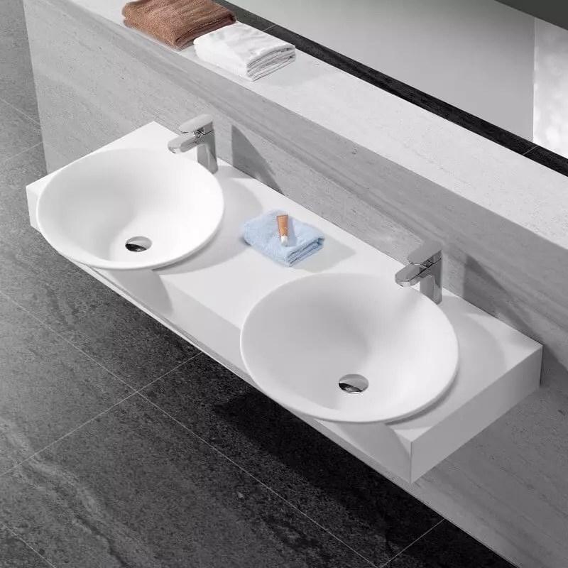 Lavabo Double Vasque Retro