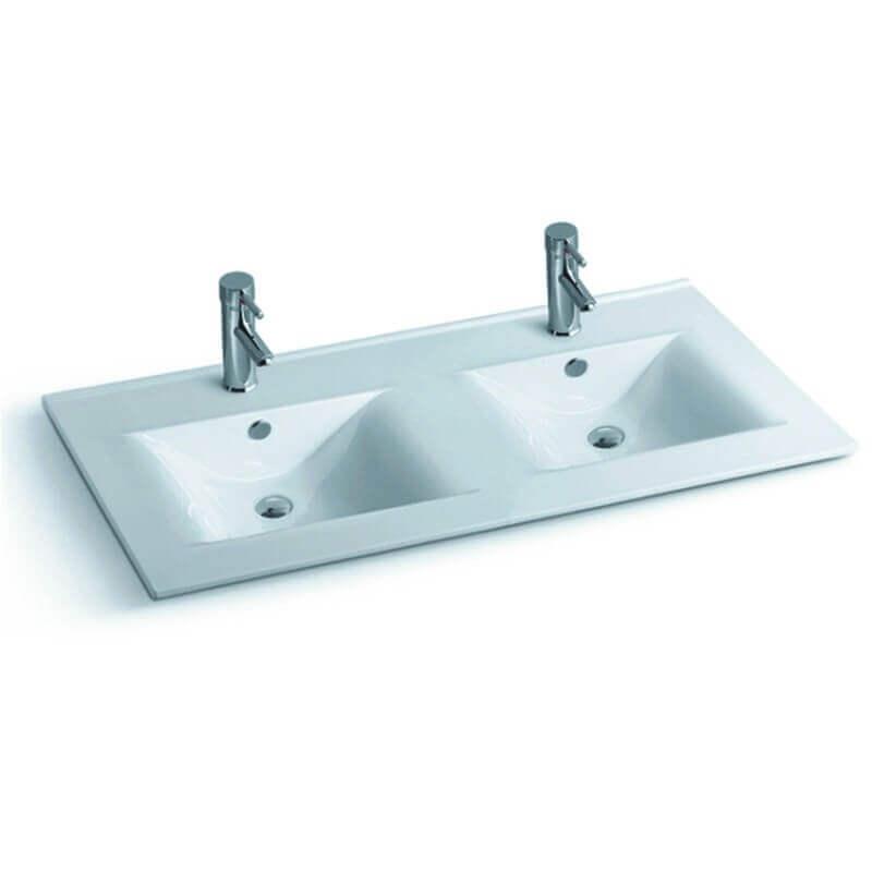 Lavabo double vasque Space  Vasque  encastrer camique Rue du Bain