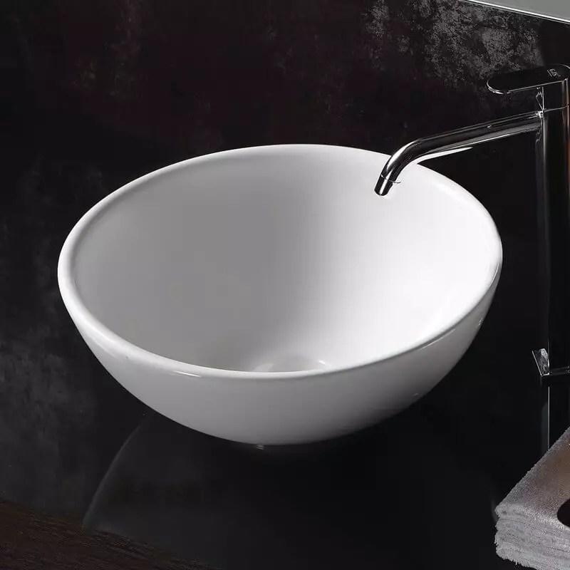 Vasque Poser Ronde Cramique Pop Vasque Poser Ronde