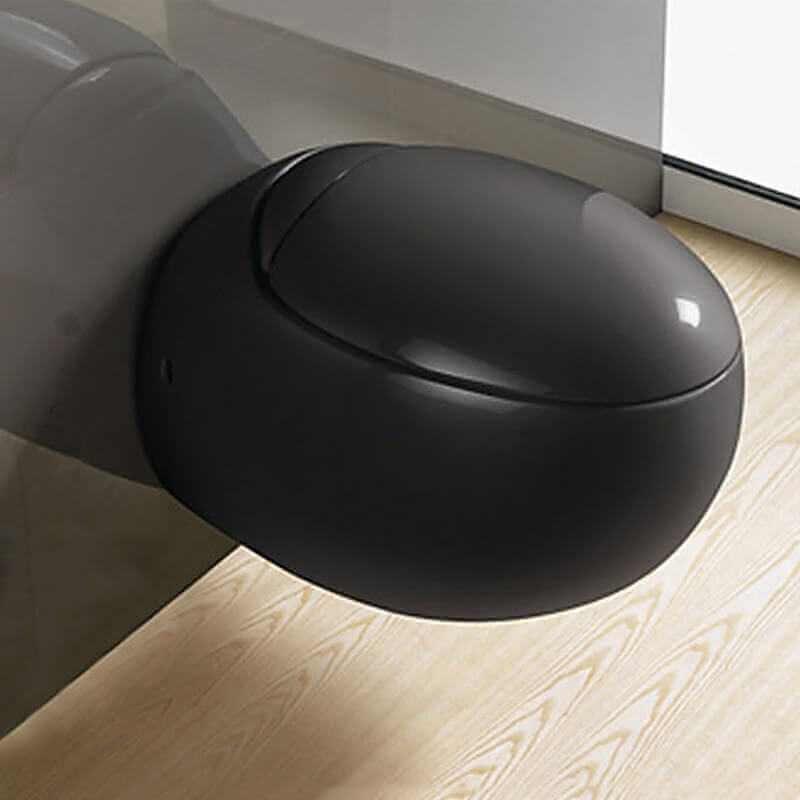 Cuvette Wc Noire Toilette Uf Wc Suspendu Design Rue Du Bain