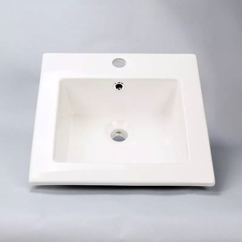 Vasque Encastrable Carre Bent Vasque Encastrer Cramique