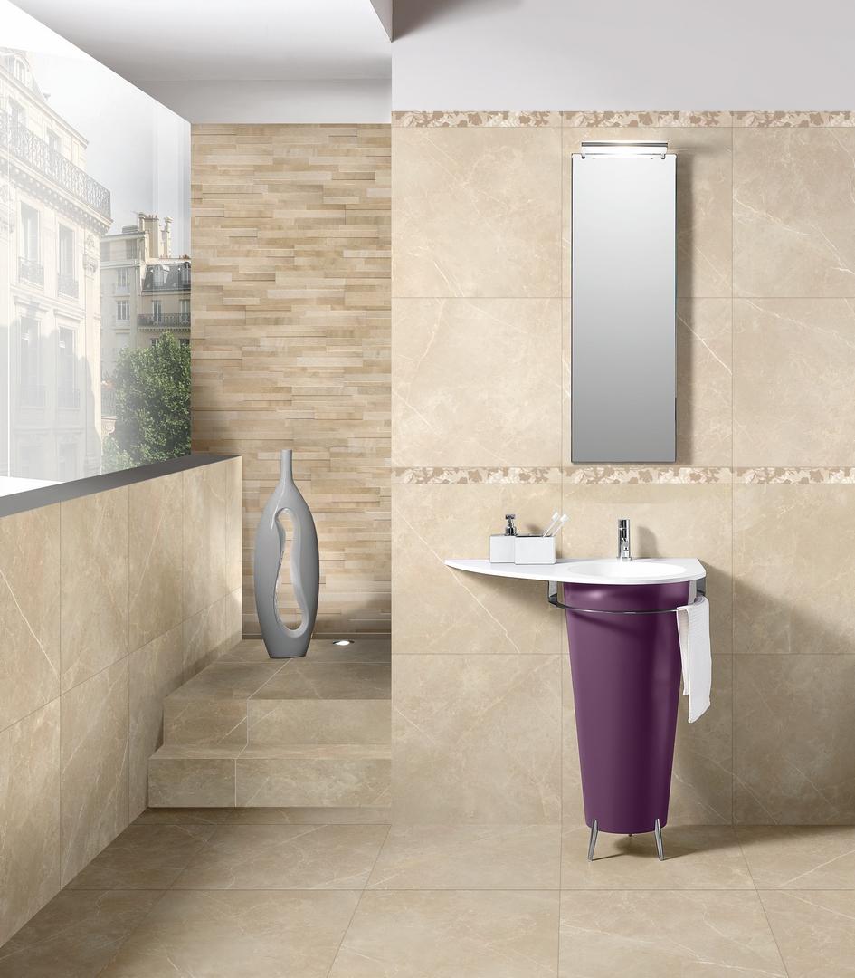 carrelage effet marbre beige 60x60 vision salle de bain