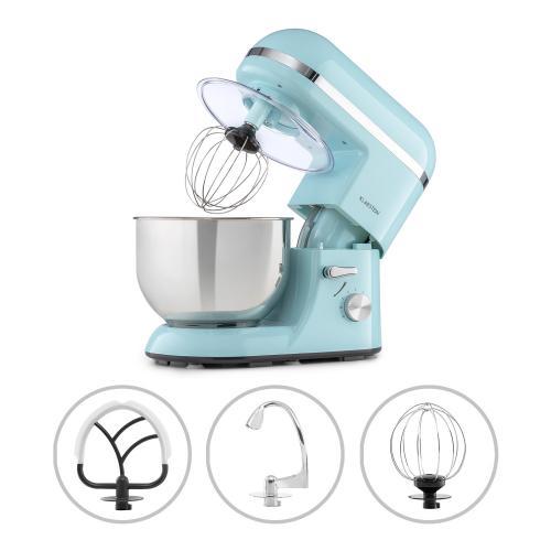 klarstein bella elegance robot de cuisine 1300w bol melangeur inox 5l 6