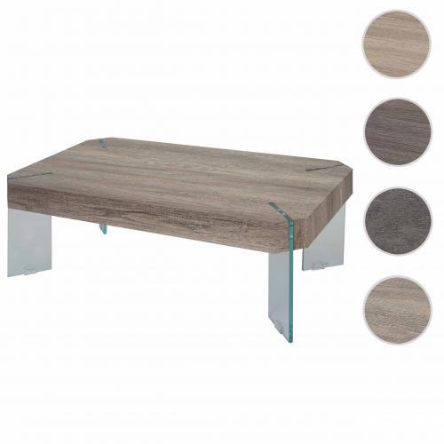 table basse de salon kos t578 fsc 40x110x60cm aspect chene sauvage pieds en