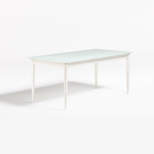 https www rueducommerce fr rayon maison 52 ng table manger extensible blanche