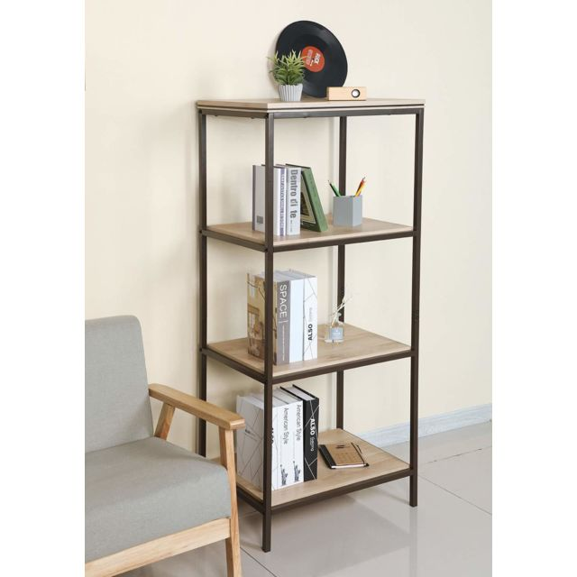 home etagere a echelle bibliotheque a 4 niveaux bibliotheque etagere